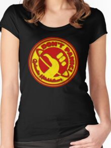 Galactic Hitchhikers 2K15 Women's Fitted Scoop T-Shirt