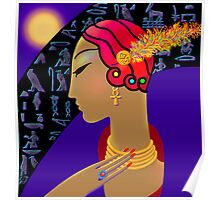 'Hollywood Nefertiti' Night on the Nile Poster