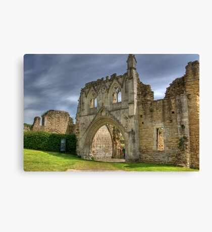 Kirkham Abbey   -  North Yorkshire Canvas Print
