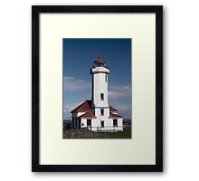 Port Wilson Lighthouse Framed Print
