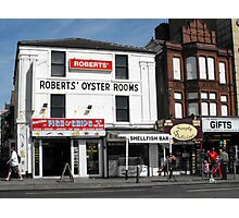 The Oyster Rooms. Photographic Print