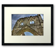 Kirkham Abbey   -  North Yorkshire Framed Print