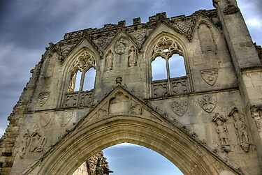 Kirkham Abbey   -  North Yorkshire by Trevor Kersley