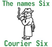 Fallout the Names Courier Six James Bond by CreativeRain