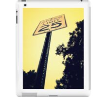 Careful Limitations  iPad Case/Skin
