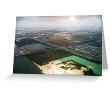 FROM ABOVE Greeting Card