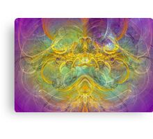 Obeisance to Nature , digital abstract Canvas Print