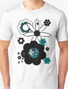 Retroflowers  T-Shirt