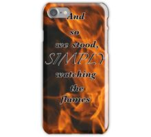 Fire-Flight  iPhone Case/Skin