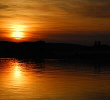 Islay: Port Ellen Sunset by Kasia-D