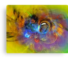 Spring Bubble Canvas Print