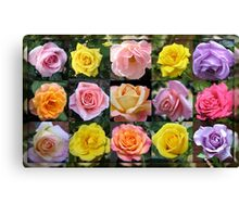 Gallery of Roses Canvas Print