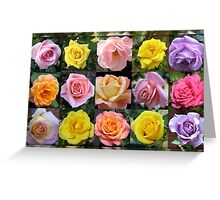 Gallery of Roses Greeting Card