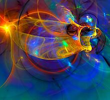 Goldfish opera Abstract by gp-art
