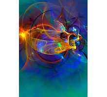 Goldfish opera Abstract Photographic Print