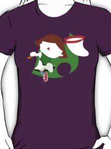 Super Smash Bros The Female Villager  T-Shirt