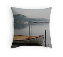 A Dawn Low Tide Throw Pillow