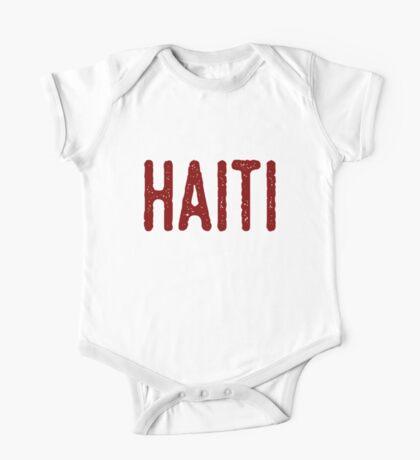 New - Haiti One Piece - Short Sleeve