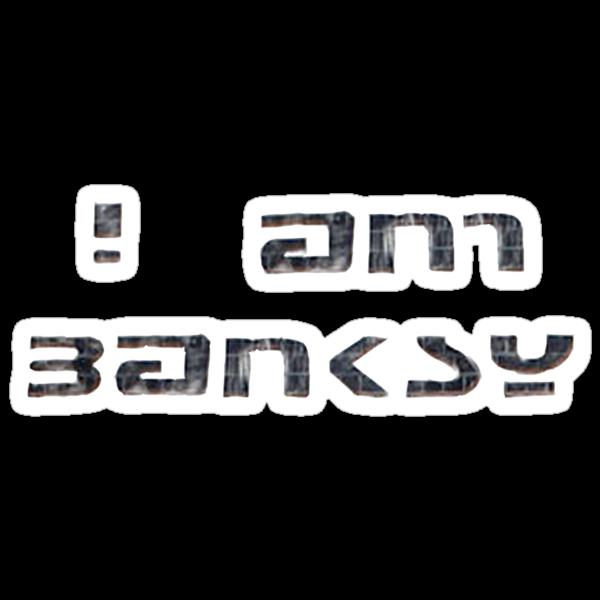 i am banksy by Jason Frayling