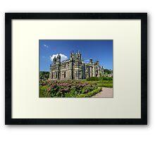 Gothic Castle. Framed Print