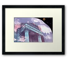 NIGHT AND DAY AT THE PRESS Framed Print