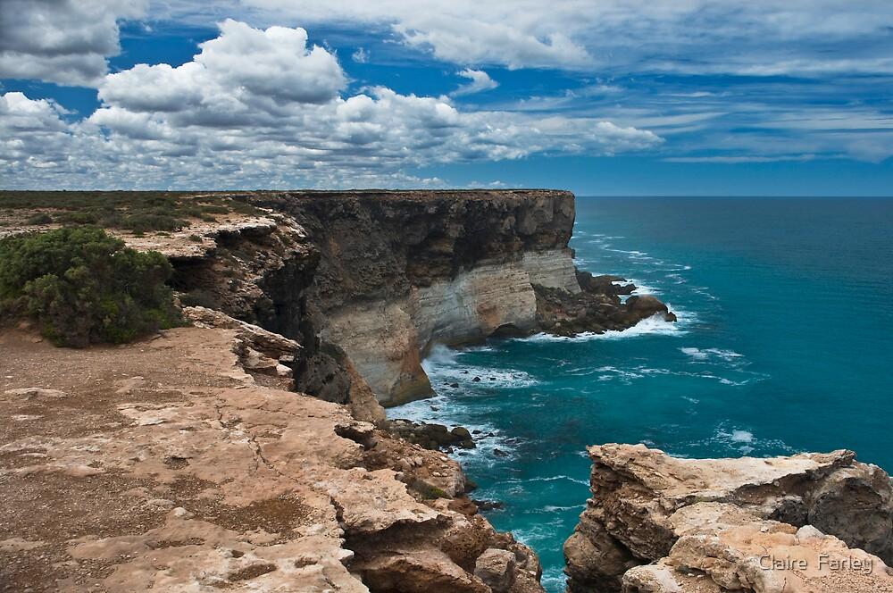 Great Australian Bight by Claire  Farley