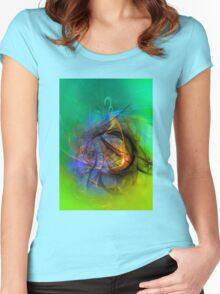 One Warm Feeling Women's Fitted Scoop T-Shirt