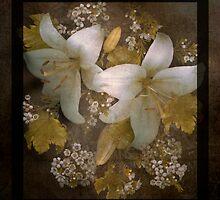 Golden Daylilies by Marsha Tudor