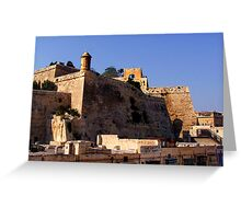 FORTIFICATIONS Greeting Card
