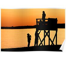 Hardings Beach at Sunset- Chatham, Cape Cod Poster
