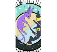 The Sun Espeon and the Moon Umbreon iPhone Case/Skin