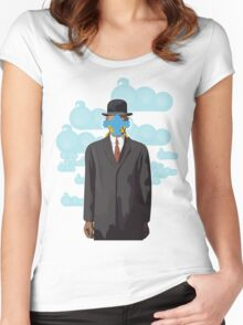 Twitterface Women's Fitted Scoop T-Shirt