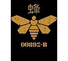 Methylamine Bee Breaking Bad Photographic Print