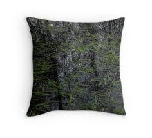 Swampy swamp Throw Pillow