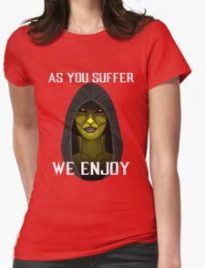 D'vorah as you suffer Womens Fitted T-Shirt