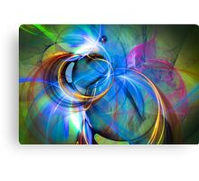 Birth of the butterfly Canvas Print