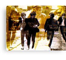 Running Under the Gun Canvas Print
