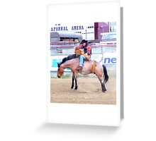 Rodeo 09 Greeting Card