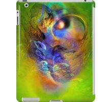 Ancient Chief, digital abstract iPad Case/Skin