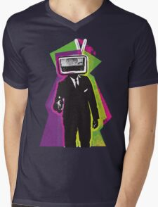 Radio Head Mens V-Neck T-Shirt