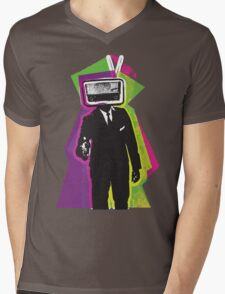 Radio Head Mens V-Neck T-Shirt