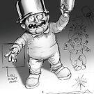 Pot wearing Little person by OscarEA