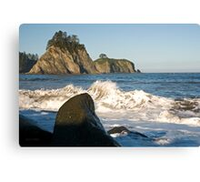 Little James Island Canvas Print