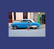 Havana - Boy Passes Blue Car Unisex T-Shirt