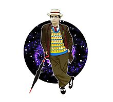 The 7th Doctor - Sylvester McCoy Photographic Print
