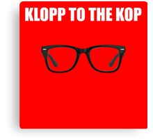 KLOPP to the KOP Canvas Print