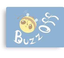 Buzz Off Canvas Print