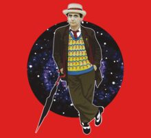 The 7th Doctor - Sylvester McCoy One Piece - Long Sleeve