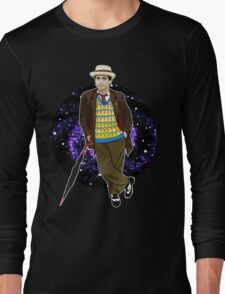 The 7th Doctor - Sylvester McCoy Long Sleeve T-Shirt