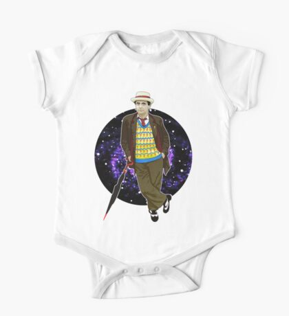 The 7th Doctor - Sylvester McCoy One Piece - Short Sleeve